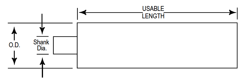 iso drawing with arrows indicating dimensions