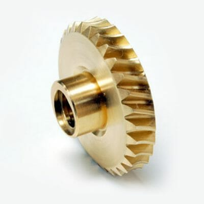 Bronze Worm Gear with ACME Threaded Bore