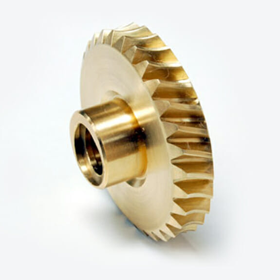 Gold plated gear
