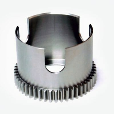 Custom Pan Stainless Steel Gear with Slots