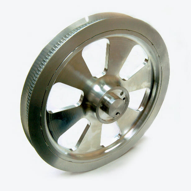 Slotted Timing Pulley